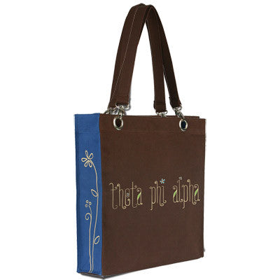Theta Phi Alpha Canvas Tote - Clearance