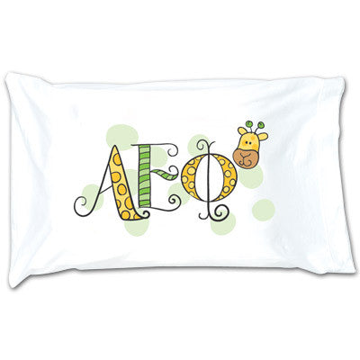 Alpha Epsilon Phi Dot Pillowcase - Alexandra Co. a1032