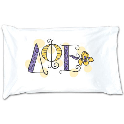 Delta Phi Epsilon Dot Pillowcase - Alexandra Co. a1032