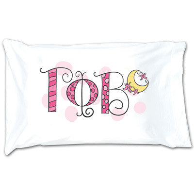 Gamma Phi Beta Dot Pillowcase - Alexandra Co. a1032