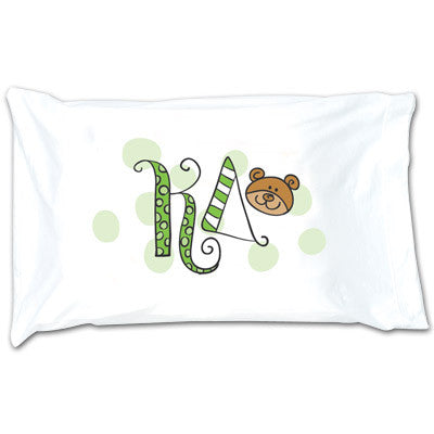 Kappa Delta Dot Pillowcase - Alexandra Co. a1032