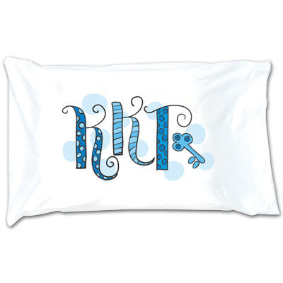 Kappa Kappa Gamma Dot Pillowcase - Alexandra Co. a1032