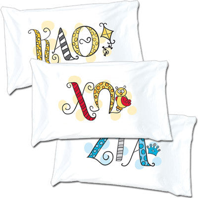 Sorority Dot Pillowcase - Alexandra Co. a1032
