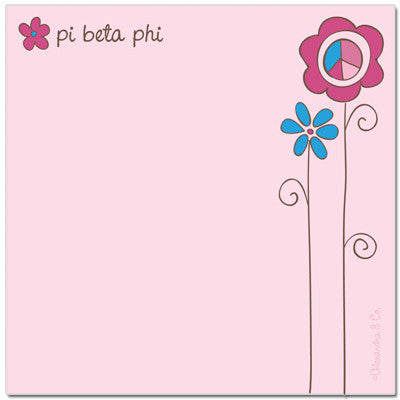 Pi Beta Phi Post-Its - Sale - Alexandra Co. a1037
