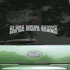 Alpha Delta Gamma Stadium Sticker - Angelius Pacific apsc - CAD