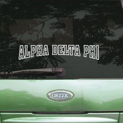 Alpha Delta Phi Stadium Sticker - Angelius Pacific apsc - CAD