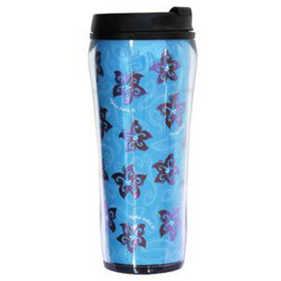 Alpha Delta Pi Metallic Travel Mug - Alexandra Co. a1061
