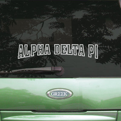 Alpha Delta Pi Stadium Sticker - Angelius Pacific apsc - CAD