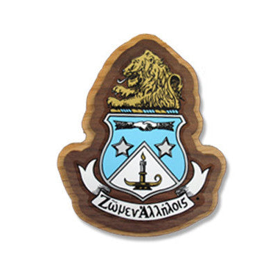 Alpha Delta Pi Large Wooden Crest - 503
