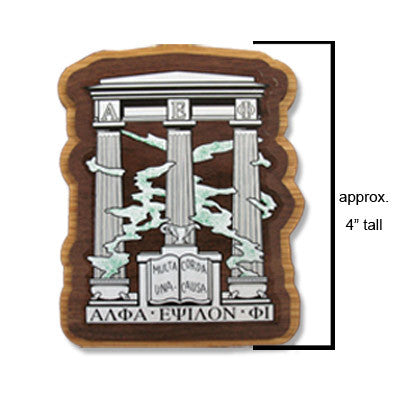 Alpha Epsilon Phi Large Wooden Crest - 503