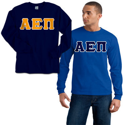 Alpha Epsilon Pi 2 Longsleeve Tees Package - Gildan 2400 - TWILL