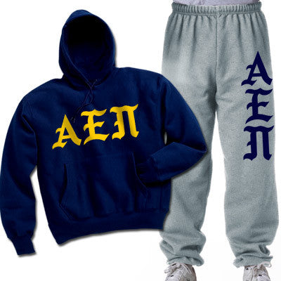 Alpha Epsilon Pi Printed Old English Package - CAD