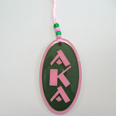 Alpha Kappa Alpha Oval Tiki - Discontinued