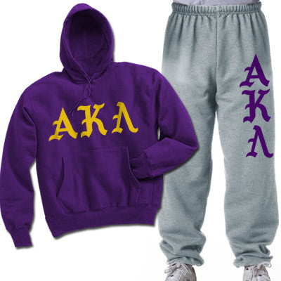 Alpha Kappa Lambda Printed Old English Package - CAD