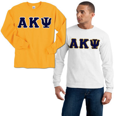 Alpha Kappa Psi 2 Longsleeve Tees Package - Gildan 2400 - TWILL