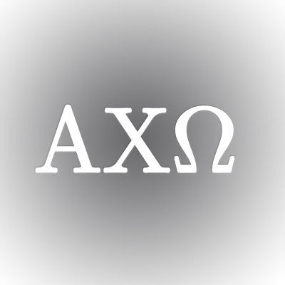 Alpha Chi Omega Car Window Sticker - compucal - CAD