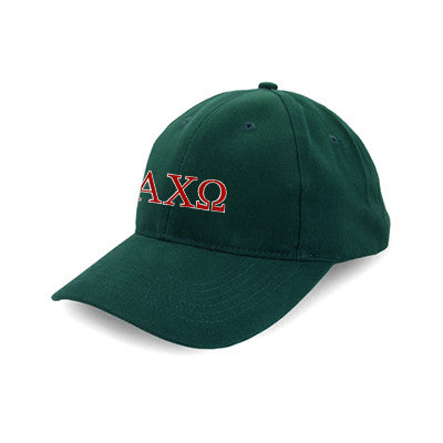 Alpha Chi Omega Flexfit Fitted Hat - Yupoong 6277 - EMB