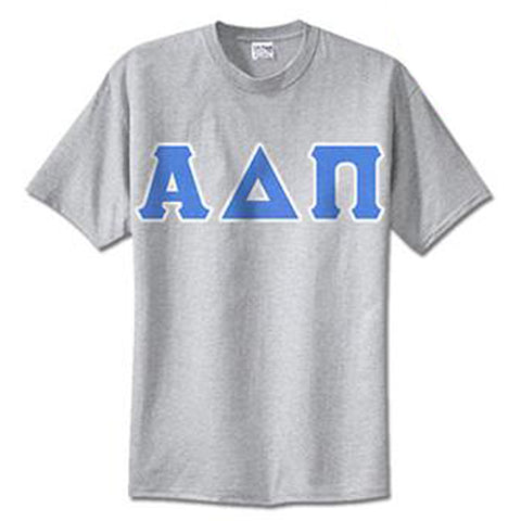 Alpha Delta Pi Standards T-Shirt - $14.99 Gildan 5000 - TWILL