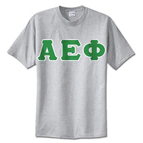 Alpha Epsilon Phi Standards T-Shirt - $14.99 Gildan 5000 - TWILL