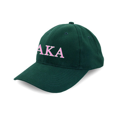 Alpha Kappa Alpha Flexfit Fitted Hat - Yupoong 6277 - EMB