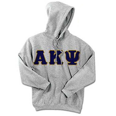 Alpha Kappa Psi Standards Hooded Sweatshirt - $25.99 Gildan 18500 - TWILL
