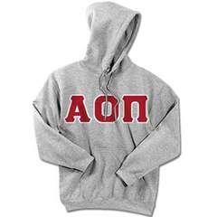 Alpha Omicron Pi 24-Hour Sweatshirt - G185 or S700 - TWILL