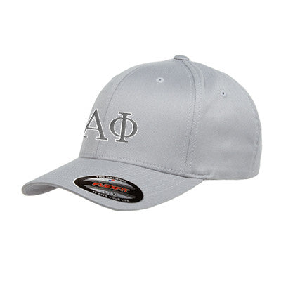 Alpha Phi Flexfit Fitted Hat - Yupoong 6277 - EMB