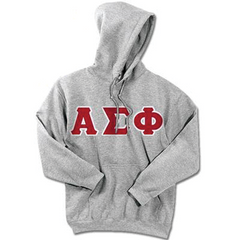 Alpha Sigma Phi 24-Hour Sweatshirt - G185 or S700 - TWILL