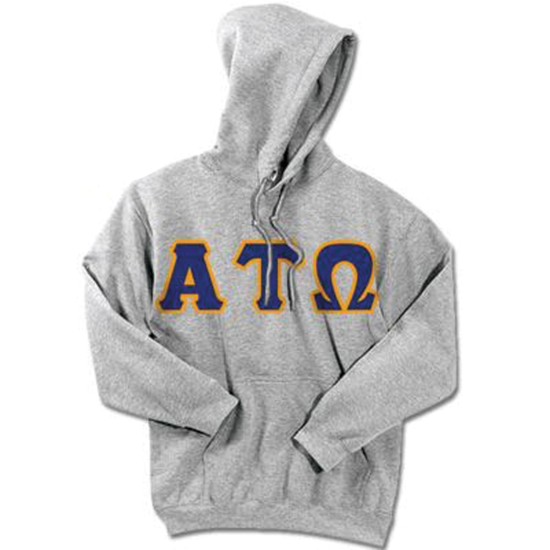 Alpha Tau Omega 24-Hour Sweatshirt - G185 or S700 - TWILL