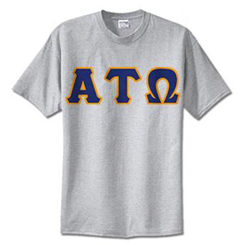 Alpha Tau Omega Standards T-Shirt - $14.99 Gildan 5000 - TWILL