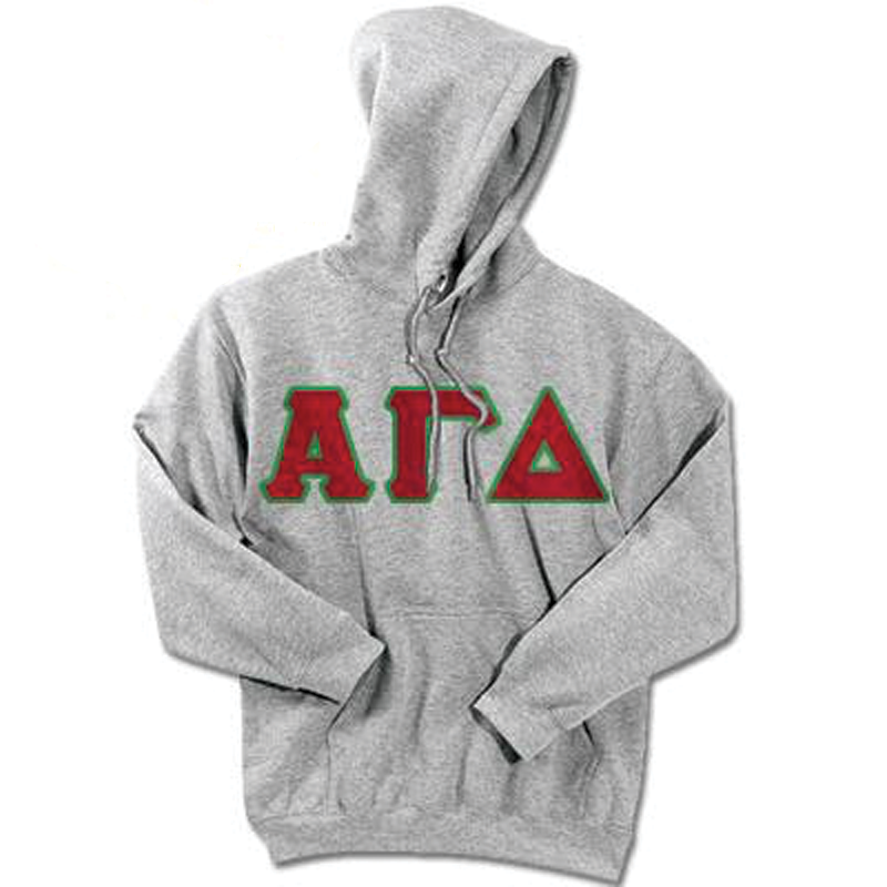 Alpha Gamma Delta Standards Hooded Sweatshirt - $25.99
