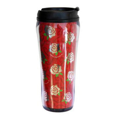 Alpha Omicron Pi Metallic Travel Mug - Alexandra Co. a1061