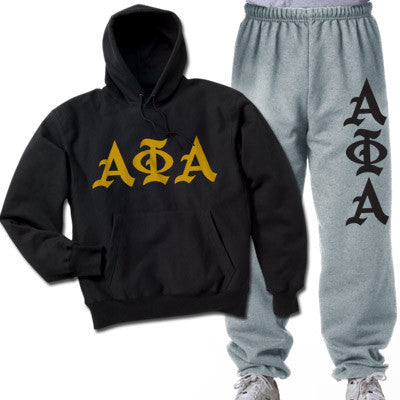 Alpha Phi Alpha Printed Old English Package - CAD