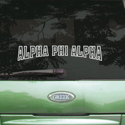 Alpha Phi Alpha Stadium Sticker - Angelius Pacific apsc - CAD