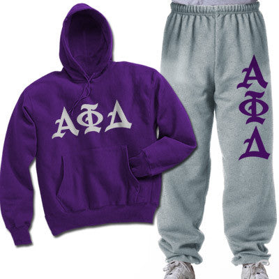 Alpha Phi Delta Printed Old English Package - CAD