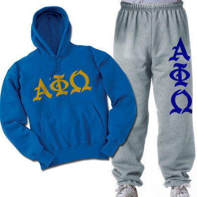 Alpha Phi Omega Printed Old English Package - CAD
