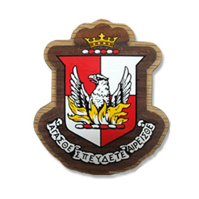 Alpha Sigma Alpha Large Wooden Crest - 503 - Limited Availability