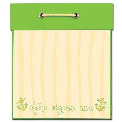 Alpha Sigma Tau Square Notepad - Alexandra Co. a1038