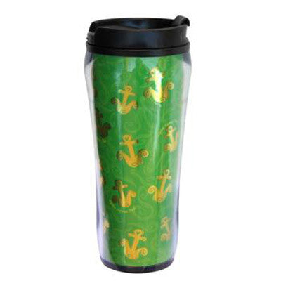 Alpha Sigma Tau Metallic Travel Mug - Alexandra Co. a1061