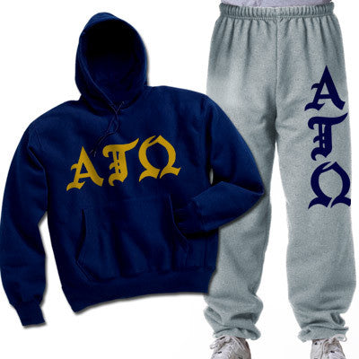 Alpha Tau Omega Printed Old English Package - CAD
