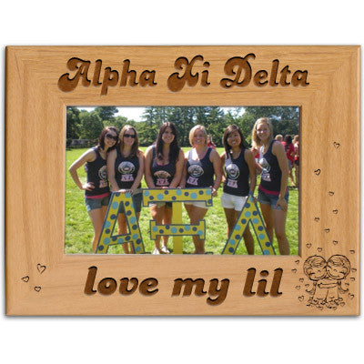Alpha Xi Delta Love My Lil Picture Frame - PTF146 - LZR