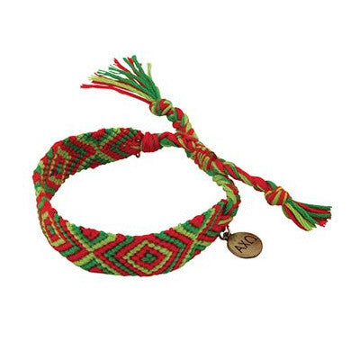 Alpha Chi Omega Friendship Bracelet - Alexandra Co. a1097