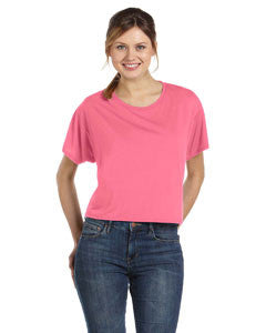 Sorority Printed Flowy Boxy T-Shirt - Bella B8881 - CAD