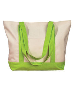Sorority Embroidered Boat Tote - Bag Edge BE004 - EMB