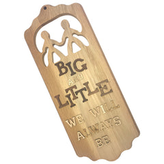 Greek Paddle Package - Sorority Friends Plaque - 445-Oak