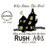 Bring down the house rush shirts