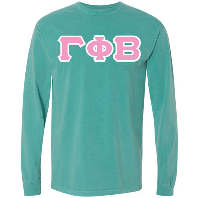 Sorority Comfort Colors Longsleeve Tee - Comfort Colors C6014 - TWILL