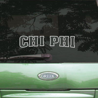 Chi Phi Stadium Sticker - Angelius Pacific apsc - CAD