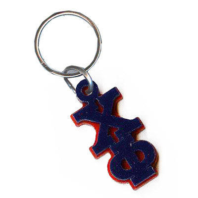 Chi Phi Letter Keychain - Craftique cqMGLA