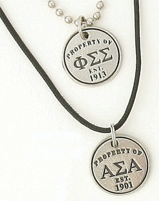 Sorority Property Of Necklace / Bracelet